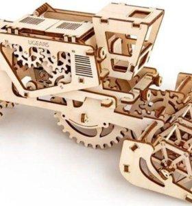 Конструктор 3D-пазл Ugears - Комбаин