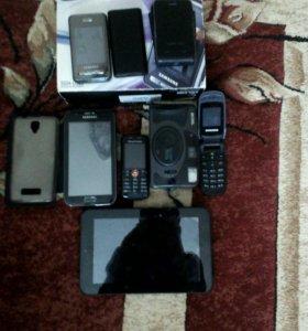 Телефоны и планшед