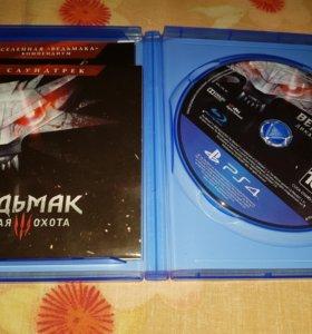 Ведьмак 3 диск PS4