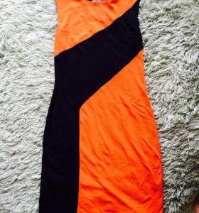 Платье-безрукавка