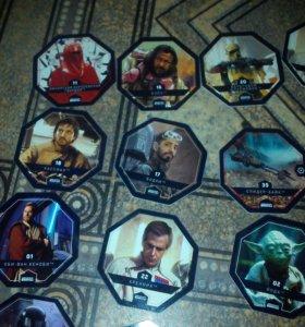 Карточки звёздные Войны