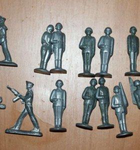 Оловянные солдатики из СССР