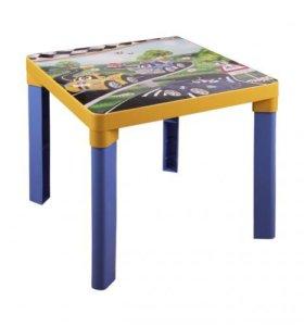 Новый стол детский пластмассовый Тачки