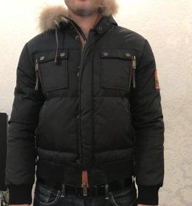 Зимний пуховик dsquared2