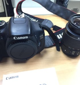 Отличная зеркалка Canon EOS 600D Kit (EF-S 18-55)