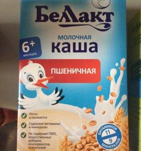 Каша молочная и безмолочнач
