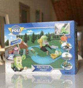 Игровой набор Poli Robocar Станция Клини