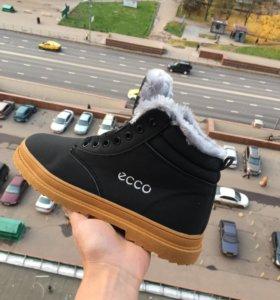 Ботинки Ecco. Размеры с 36 по 45.