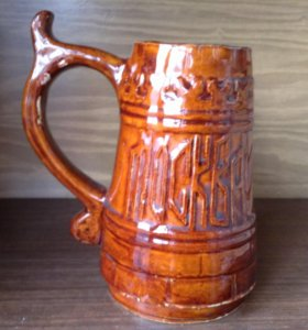 Пивная кружка керамика