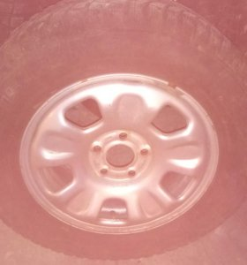 Продам зим. резину на литых дисках R 16