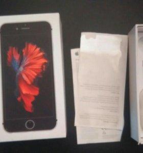 Коробка от айфон 6s