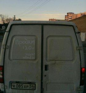 Грузовой фургон газ 2705