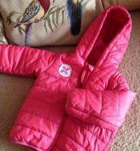 Куртка для девочки р.86