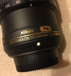 Nikon 70-200 f 4