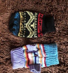 Комбинезон и 2 свитера