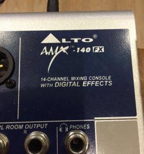 Микшерный пульт ALTO 140 fx