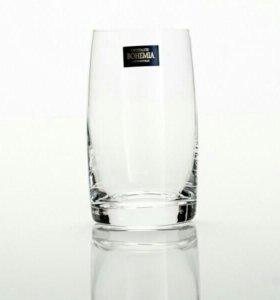 Набор  для воды, виски, водки Богемское стекло