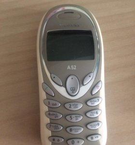 Siemens a52 ретро телефон