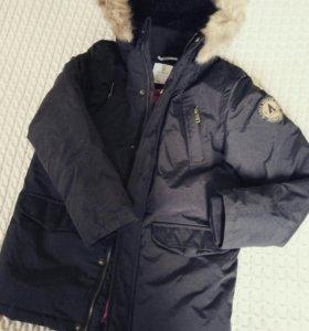 Куртка зимняя 128 рост