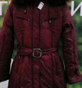 Удлененная куртка для девочки