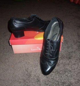 наткральная кожанная обувь