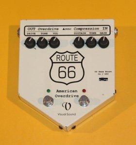 Овердрайв- компрессор Visual Sound Route 66 V1 USA