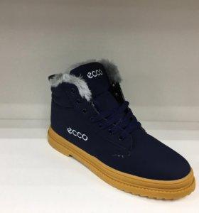 Новые зимние ботинки 😍❄️