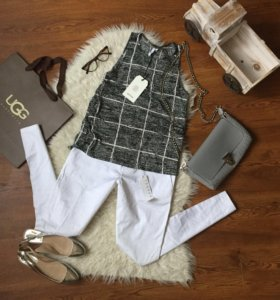 Блузка Elvine (s) брюки stefanel (s)