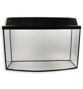 Новый аквариум 55 литров с крышкой и без