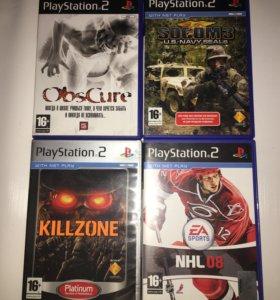 16+ Лицензионные диски для консоля PlayStation 2