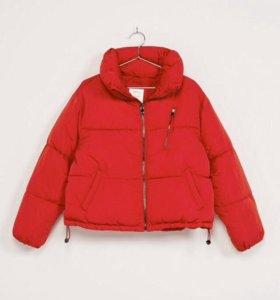 Куртка новая  зефирка Bershka