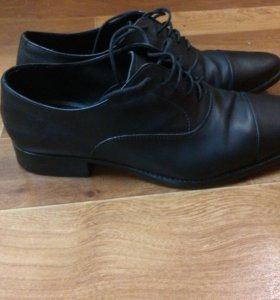 Мужские туфли зара