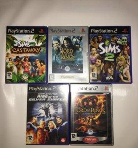 12+ Лицензионные диски на PS2
