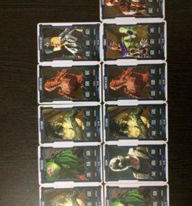Карточки MORTAL KOMBAT
