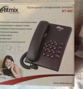 Стационарный телефон новый Ritmix RT-310