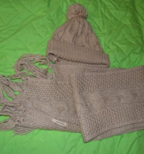 Набор шапка+шарф