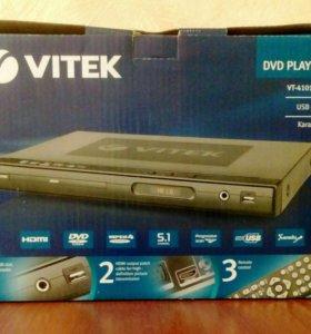 Dvd плеер Vitek(новый)