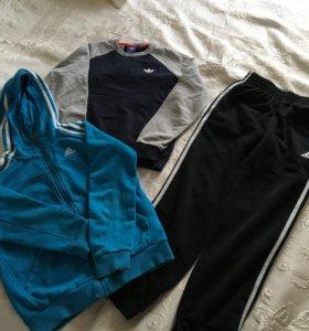 Спортивный костюм adidas 3 предмета