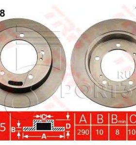 Тормозные диски Suzuki Jimny TRW DF2588