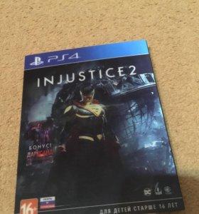 Продам игру injustice 2 Day one Editon