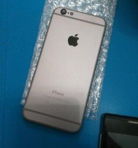 Новый iPhone 6 space gray корпус