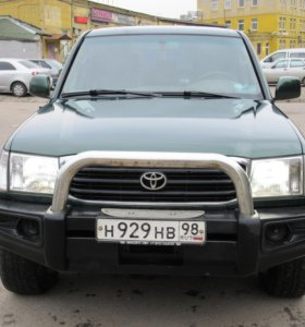 Toyota Land Cruiser 100, 1998 Дизель на механике.