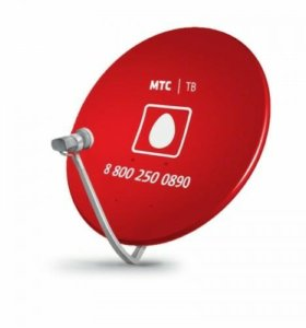 Спутниковое ТВ МТС, тарелка+ресивер