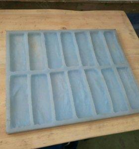 Полиуретановые формы для кирпича