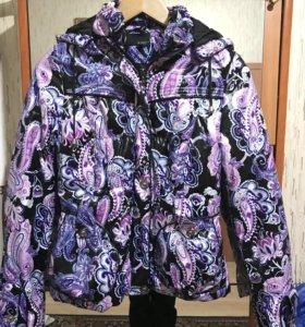 Новая куртка на синтепоне