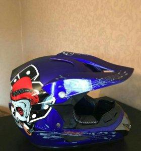 Шлем кроссовый новый
