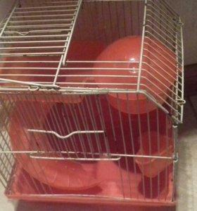 Клетка для джунгариков, хомяков и других грызунов