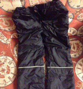 Утеплённые штаны 116р