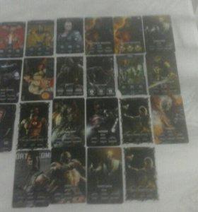 Колекционые карты MORTAL KOMBAT X