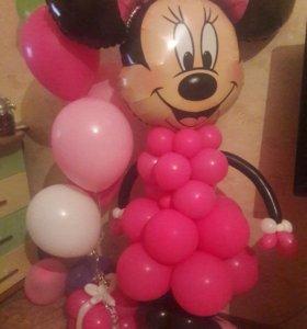 Продам мики Мауса из воздушных шариков,+подарок
